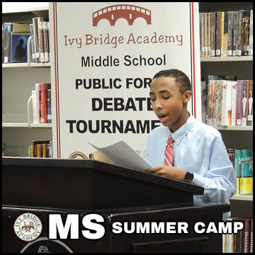 IBA Debate Camp MS Summer Sat