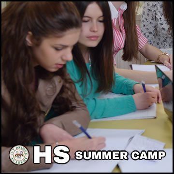 IBA Writing Camp HS Sat