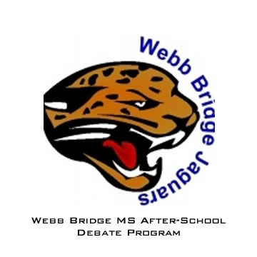Webb Bridge MS Debate Program