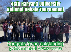 Harvard Debate Nationals 2020 IBA