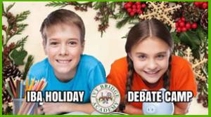 Holiday Debate Camp Alpharetta