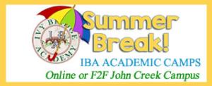 IBA Summer Camps Registering